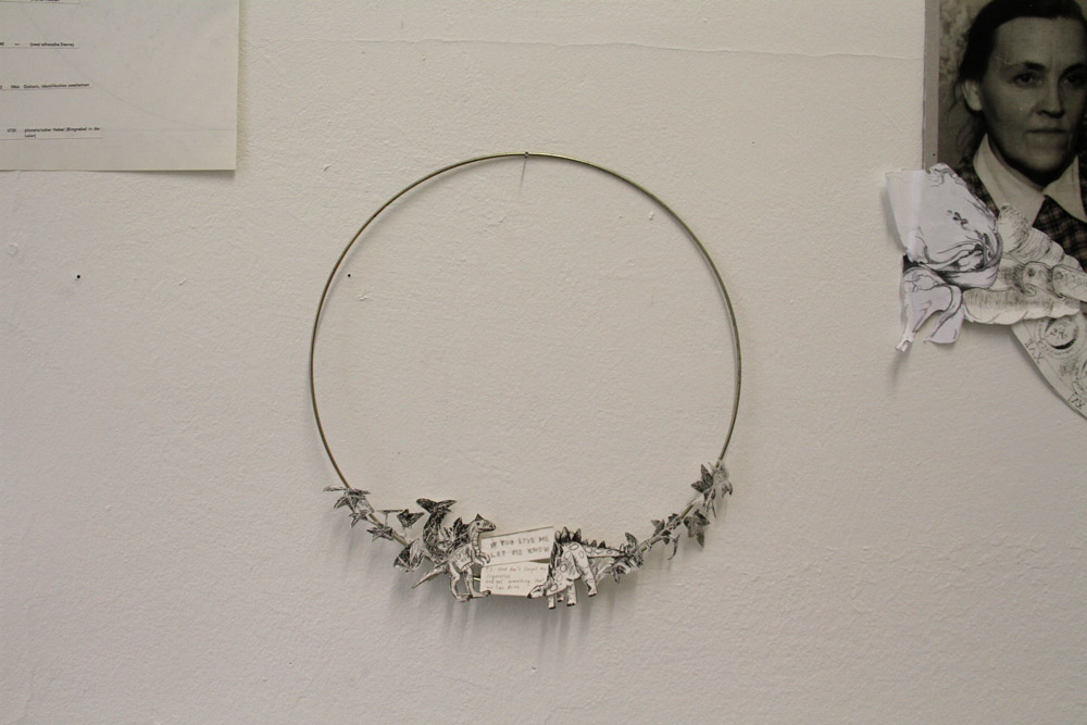 Ausstellungsansicht Detail