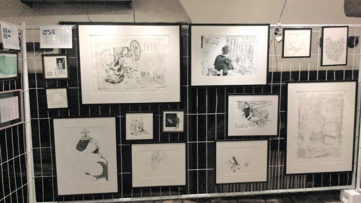 Ausstellungsansicht Sturm und Drang Galerie