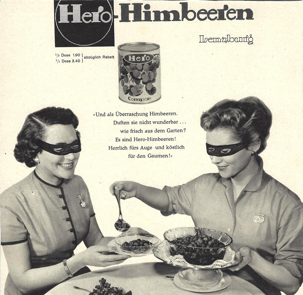 Himbeerheldinnen essen jeden Morgen Helden Himbeeren, Collage, 2014